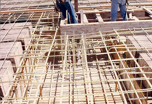 San Antonio, TX - First Commercial Structural Application of FRP Rebar ever